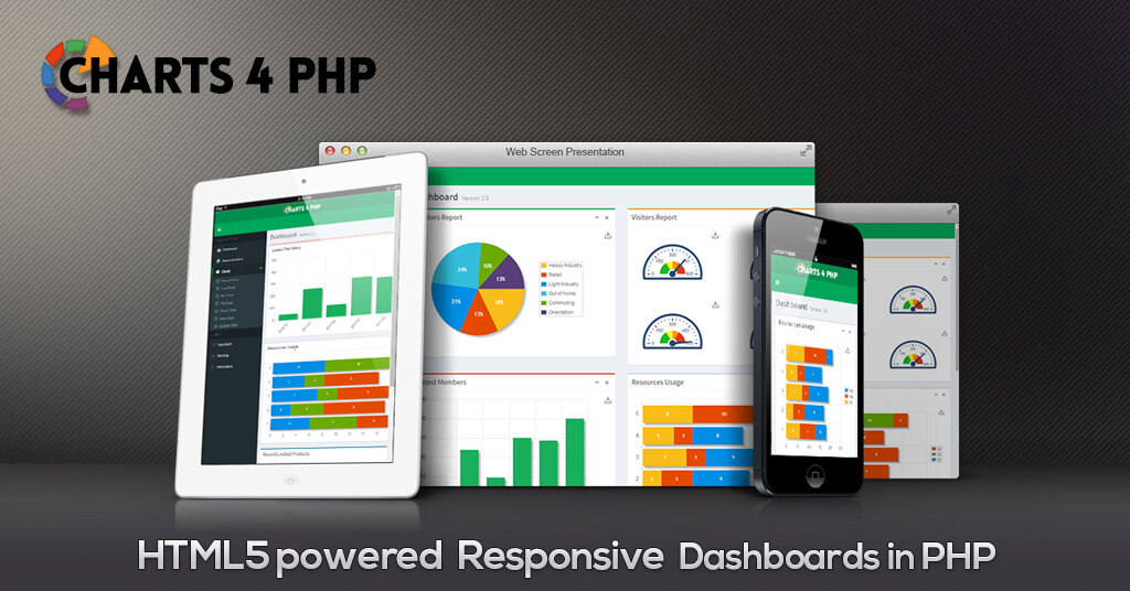 Creating Dashboard  with Charts 4 PHP